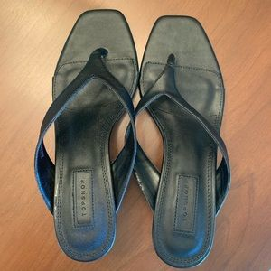 Topshop Nina flip flop heels